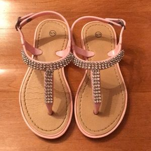 Other - 🌺 Faux Crystal Jelly Sandals